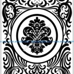 Door decoration pattern
