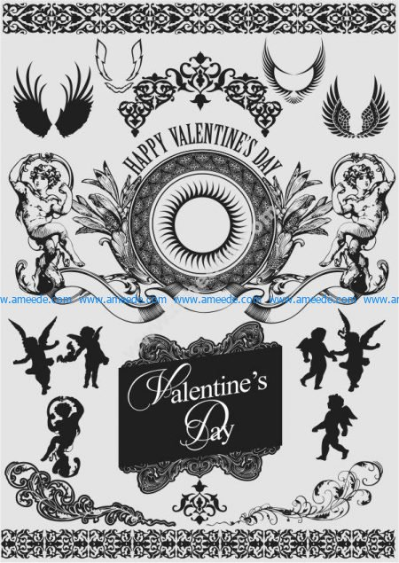 Valentine decorative