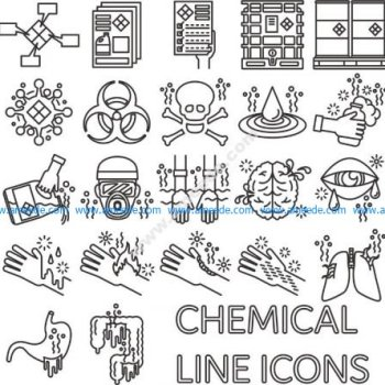 chemical icons