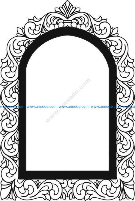 cnc engraving mirror patterns