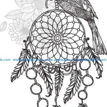 bird dream catcher