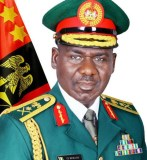 Buhari Commiserates With Buratai over Mother's Death