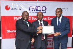 FMDQ Kicks Off the Year with the Commemoration of the Listing of Sterling Investment Management SPV PLC Bond
