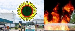 Update: NNPC Reports Fire Outbreak at Ibadan Depot
