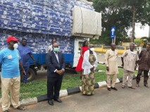 Mouka Donates 200 Mattresses to Ogun State Government for COVID -19 Isolation Centres