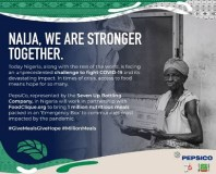 PepsiCo pledges 1 Million GiveMealsGiveHope initiative to fight COVID-19 hunger amongst at-risk communities in Nigeria