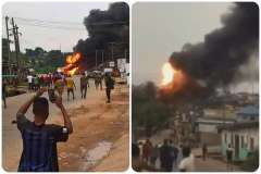 Scores injured,buildings, event centre, vehicles destroyed in Lagos gas explosion