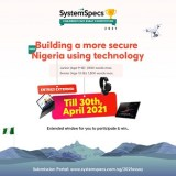 SystemSpecs Extend National Children's Day Essay Competition Deadline To April 30, 2021