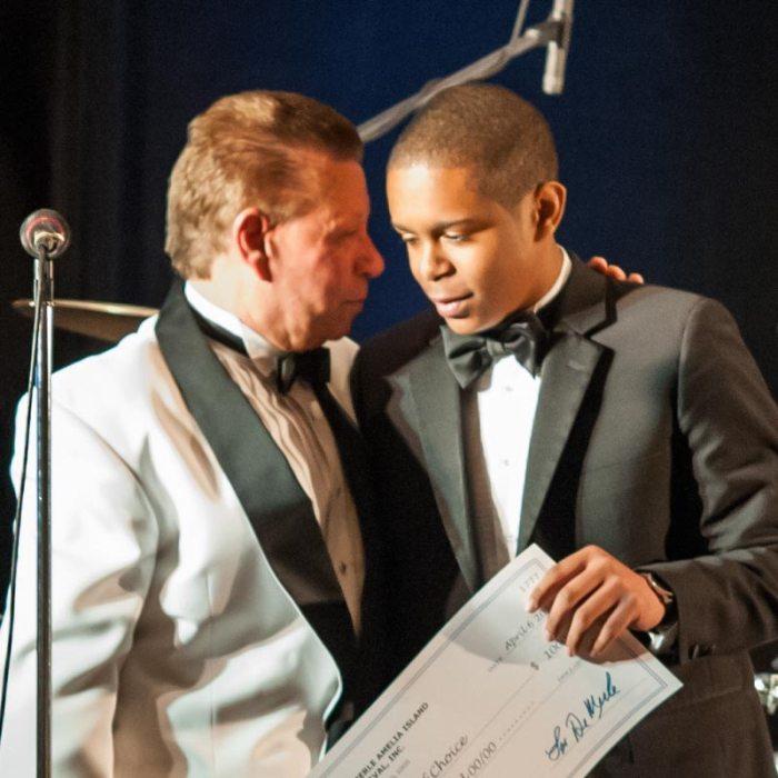 2013 AIJF Scholarship Winner Richard Roberts