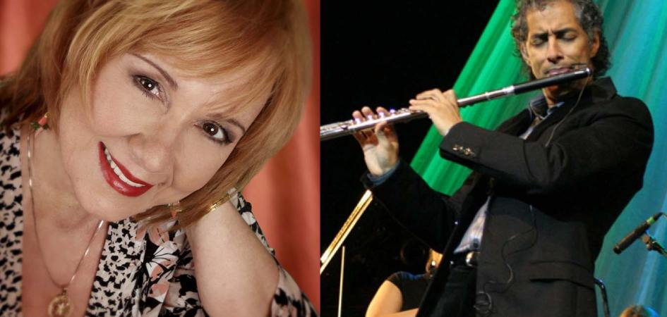 Roseanna Vitro and Nestor Torres