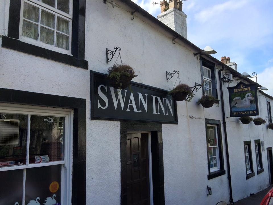 The Swan, a traditional 18th century lakeland inn on historic Kirkgate in Cockermouth