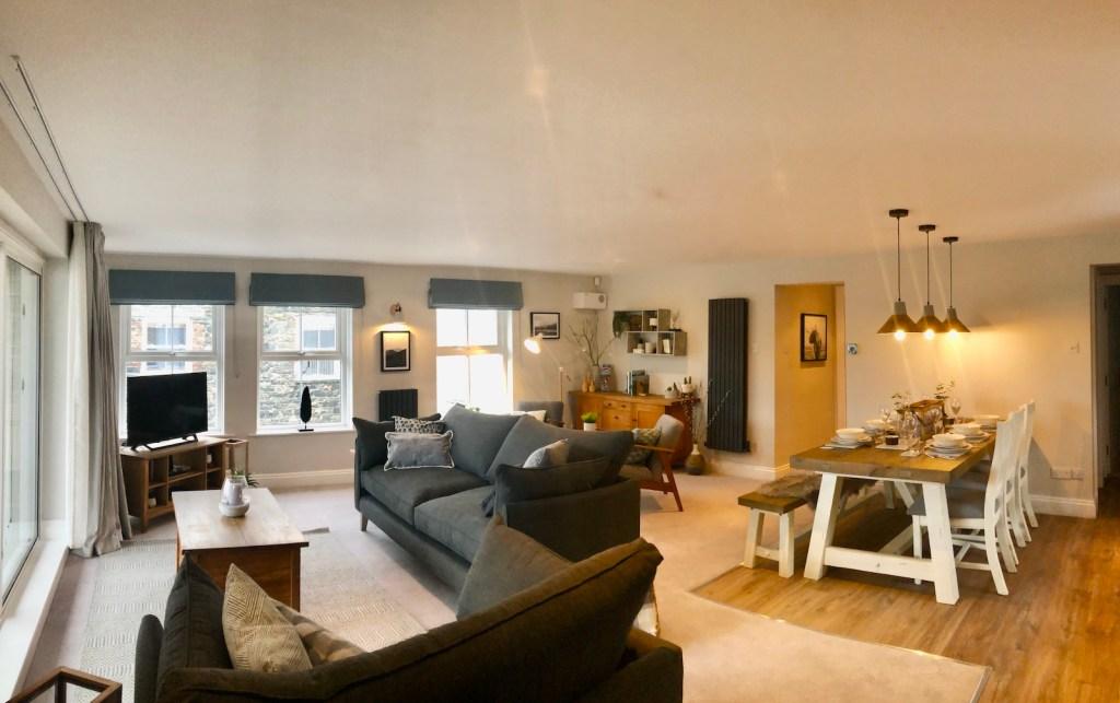 Derwentwater View Living Area