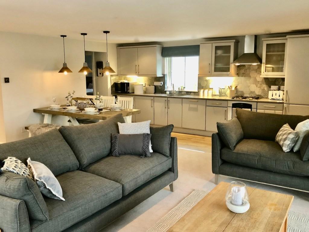 Derwent View Living Area