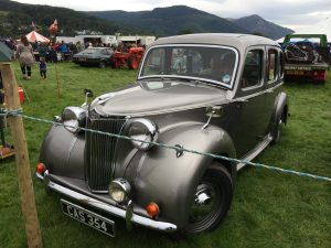 One of the many vintage cars at Keswick