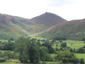 Newlands Valley from Swindale Inn