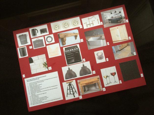 Kitchen mood board - Amelia Wilson Interiors Ltd