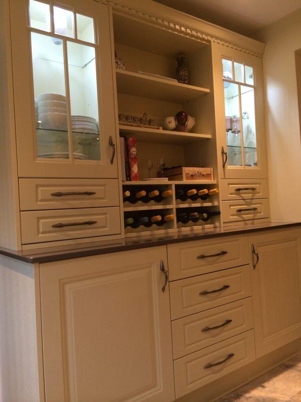 Dresser style kitchen units