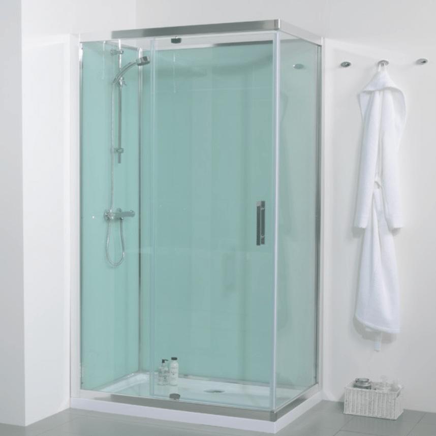 Aqua Reflect acrylic shower wall panel by Multipanel