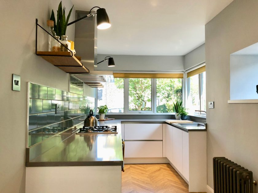 Interior design kitchen designed by Amelia Wilson Interiors Ltd