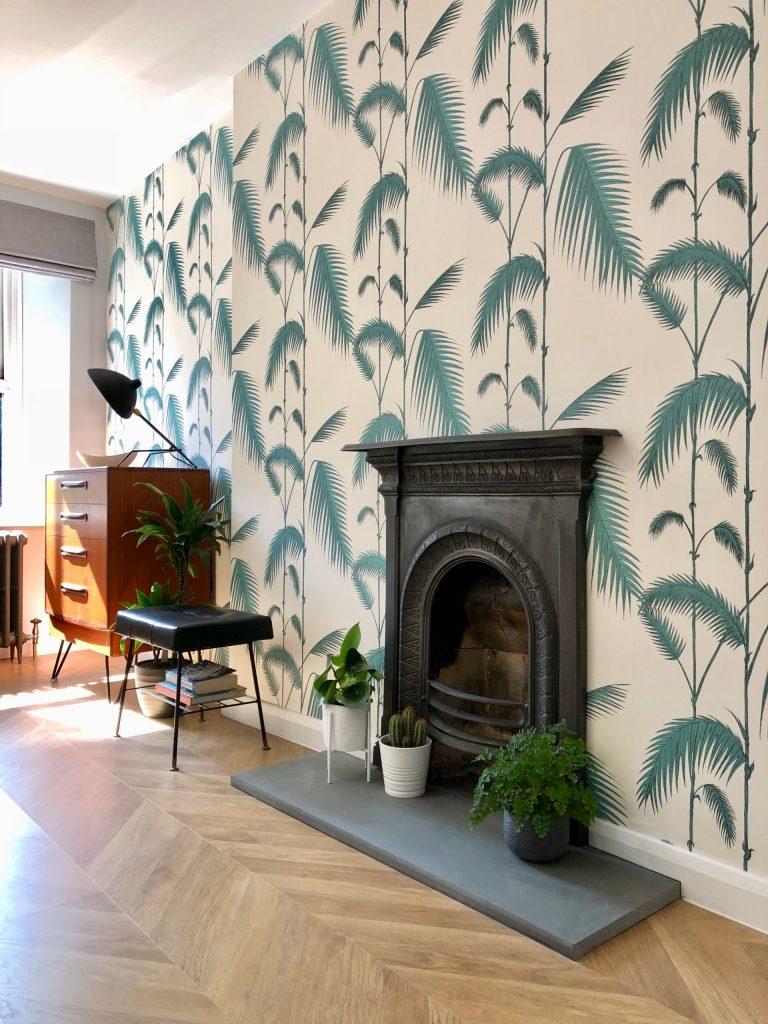 interior design reclaimed cast iron victorian fireplace