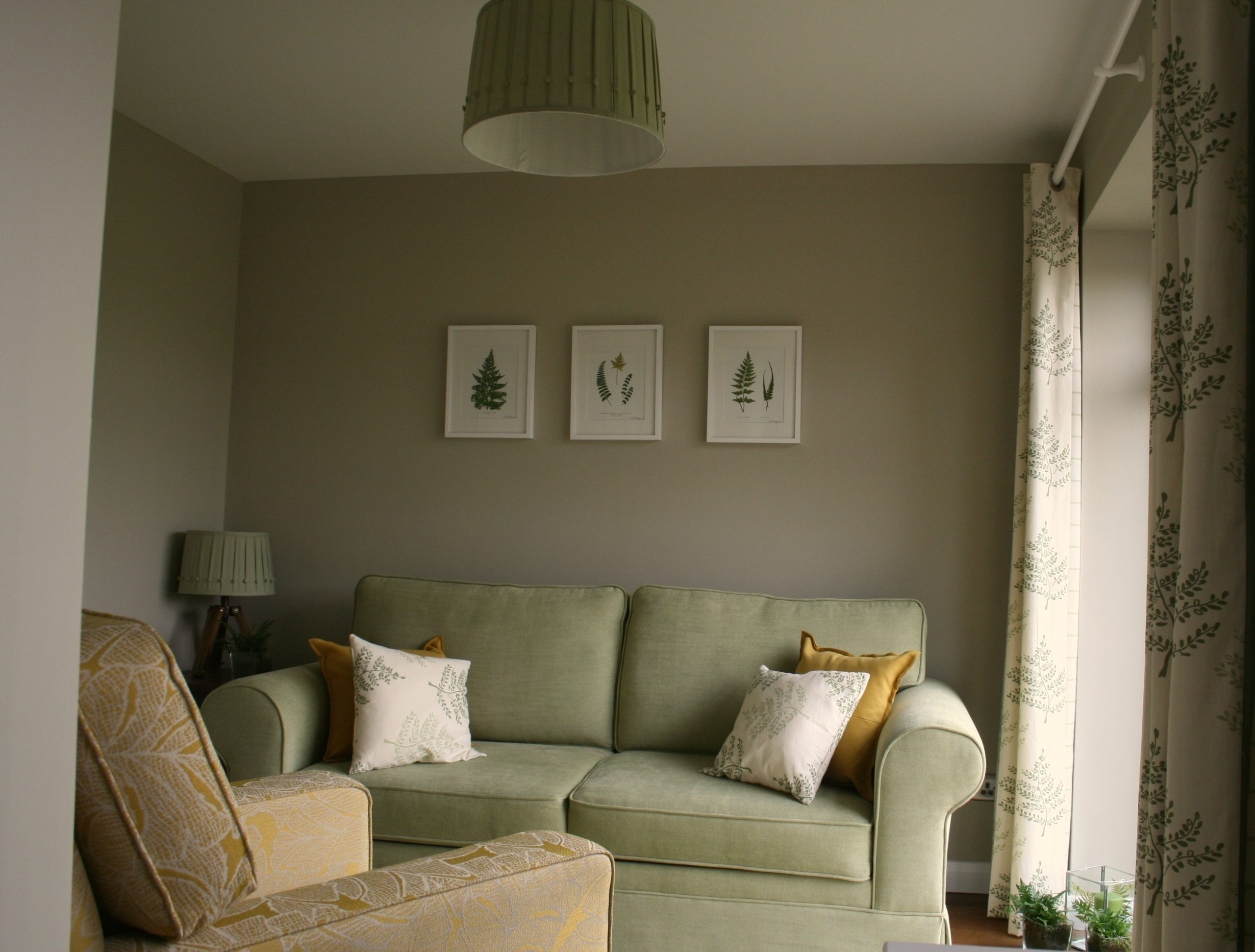 Before and after images from bedroom makeover by Amelia Wilson Interiors Interior Designer