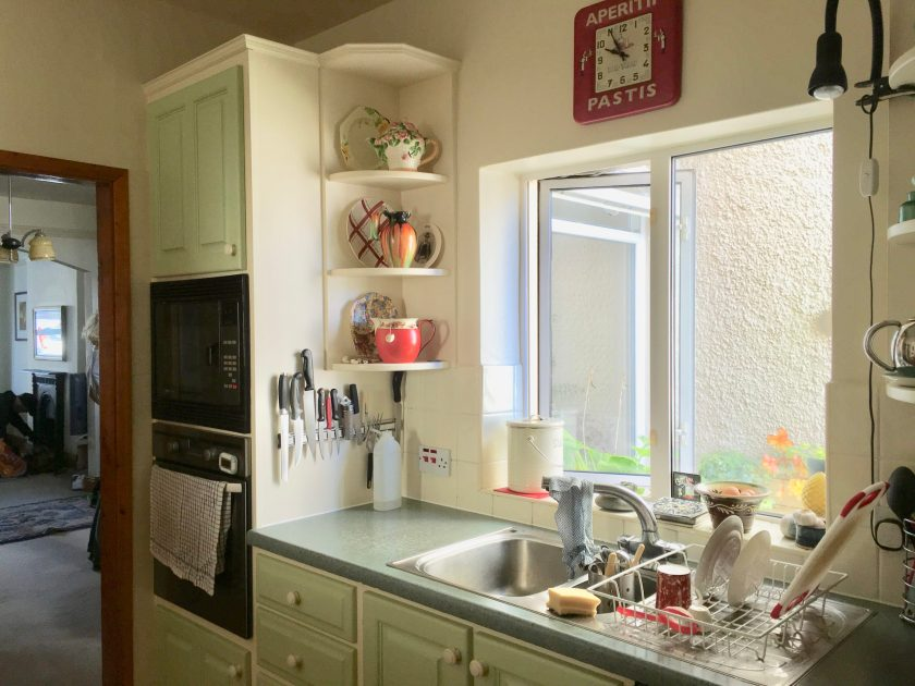 Future proofing in interior design. Kitchen transformation