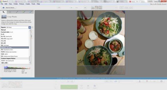 Amelia Writes | Create square photos without using Photoshop