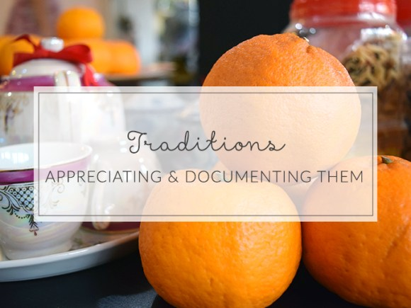 Learn to appreciate and document your traditions with these four questions.