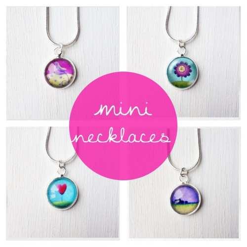 mini necklaces (12mm)