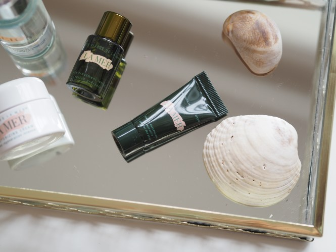 La Mer Treatment Lotion and La Mer Eye Concentrate