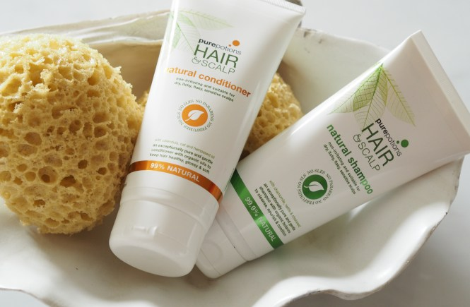 purepotions shampoo and conditioner
