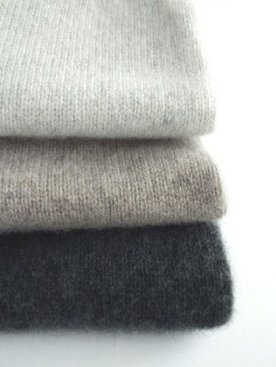 Grey fluffy jumpers
