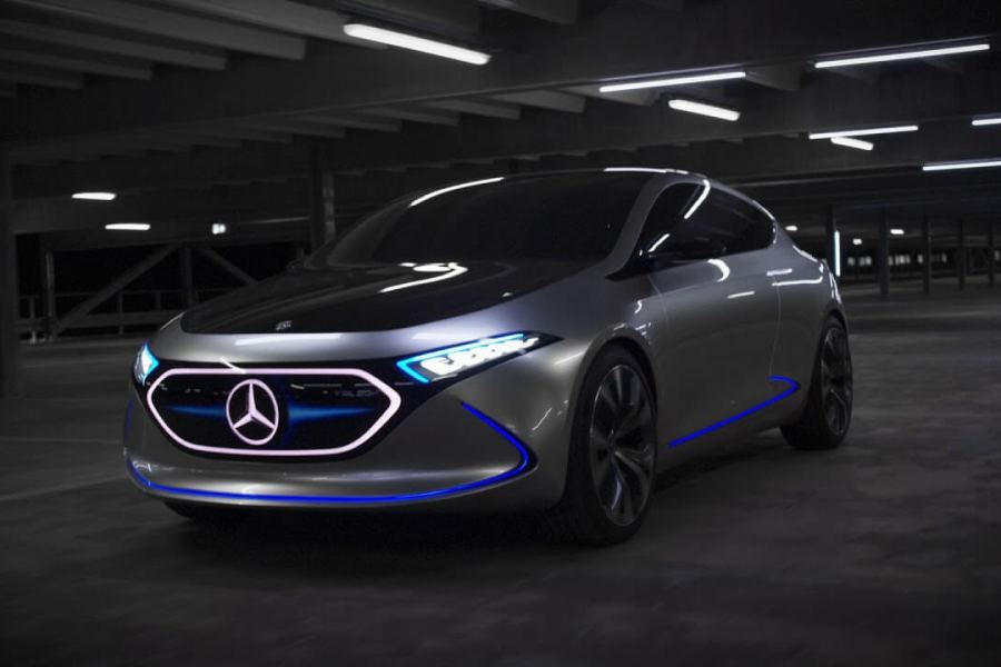 Daimler Mercedes-Benz Electric Cars EQC Dubai UAE