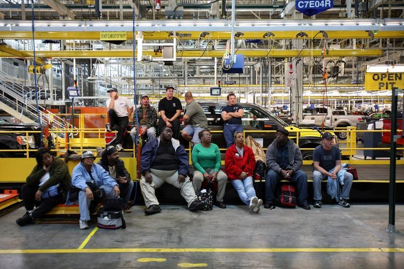 workforce at Ford's European
