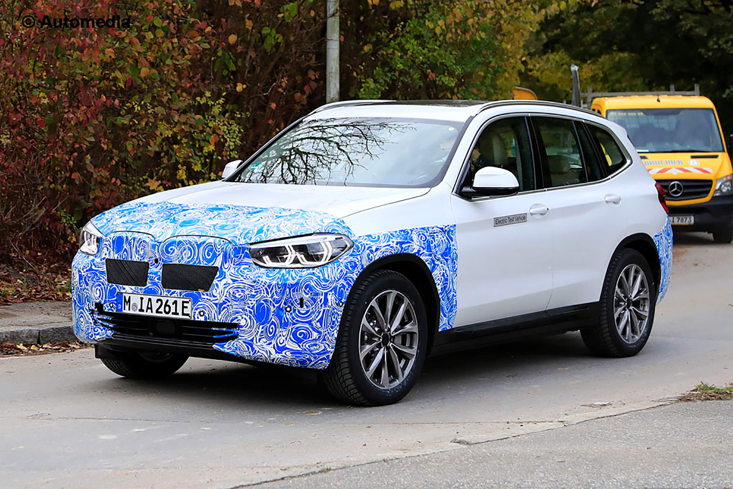 Bmw Ix3 Spotted Testing Launch Expected In 2020 Amena Auto