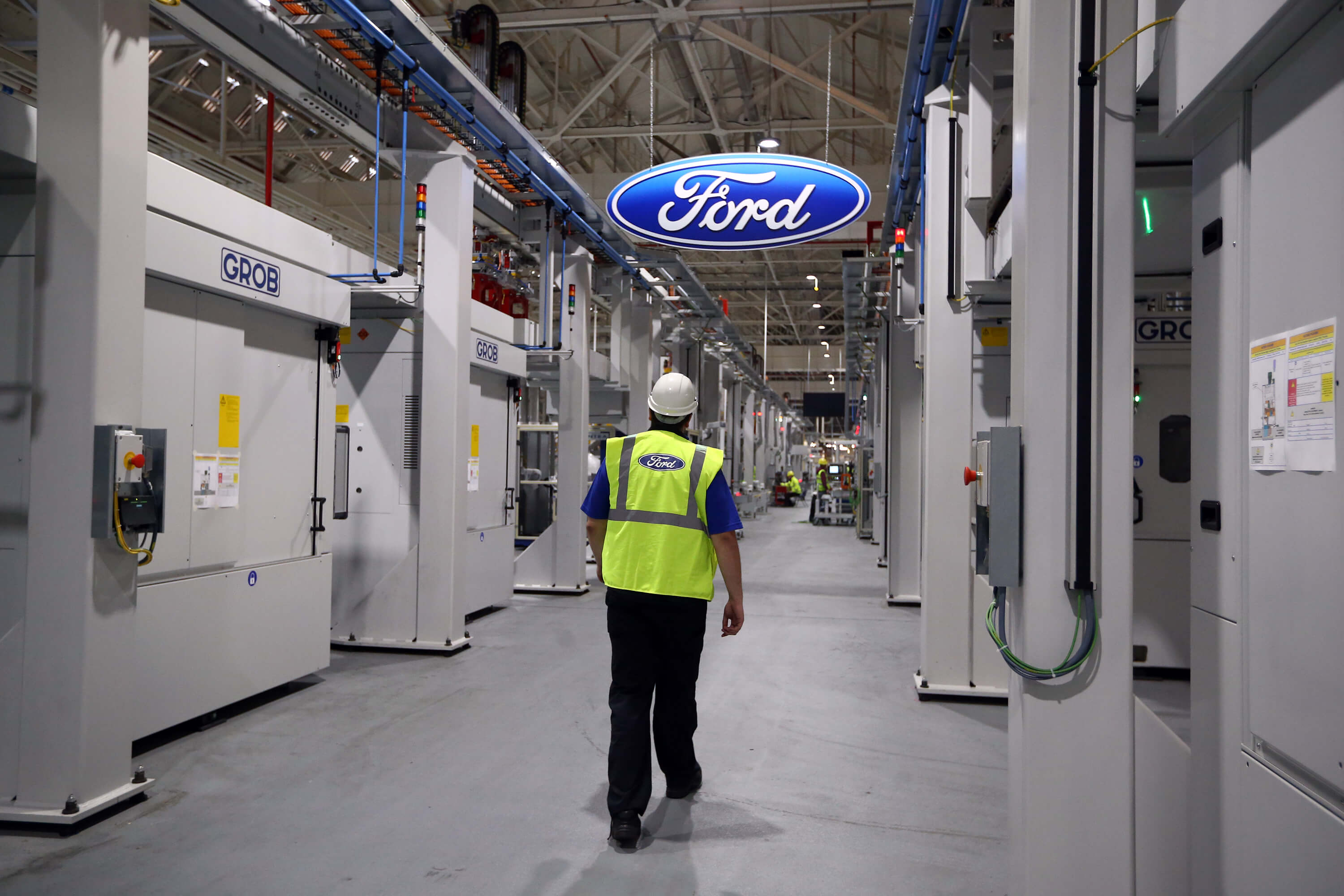 Ford Production Line UK