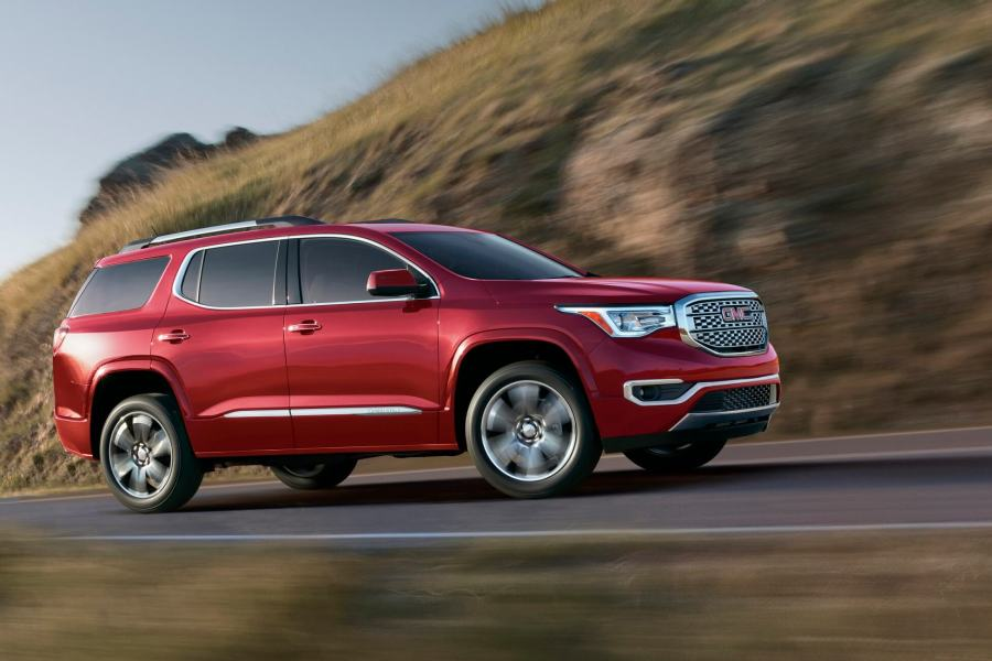 2018 GMC Acadia Denali Middle East