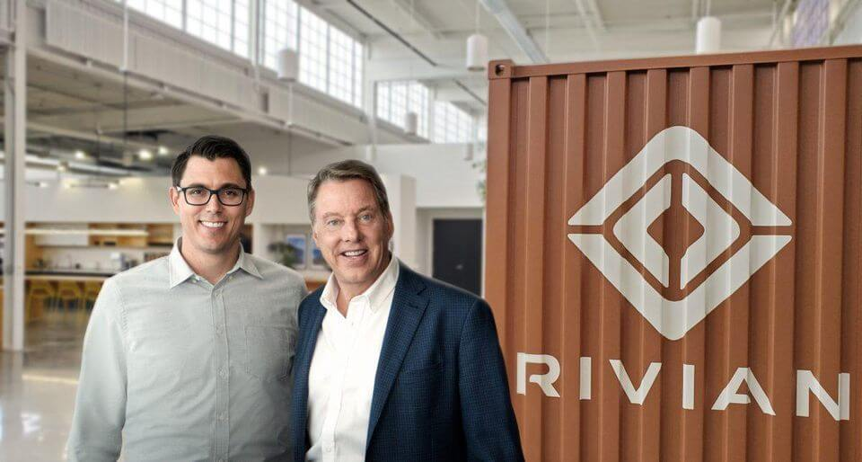 EV Startup Rivian's CEO RJ Scaringe and Ford Executive Chairman Bill Ford