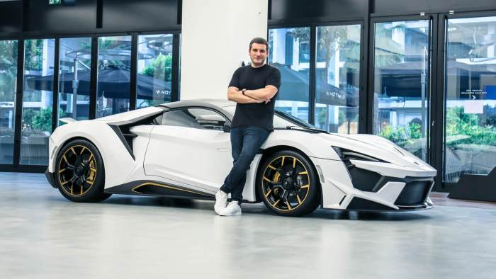 W Motors CEO Ralph Debbas