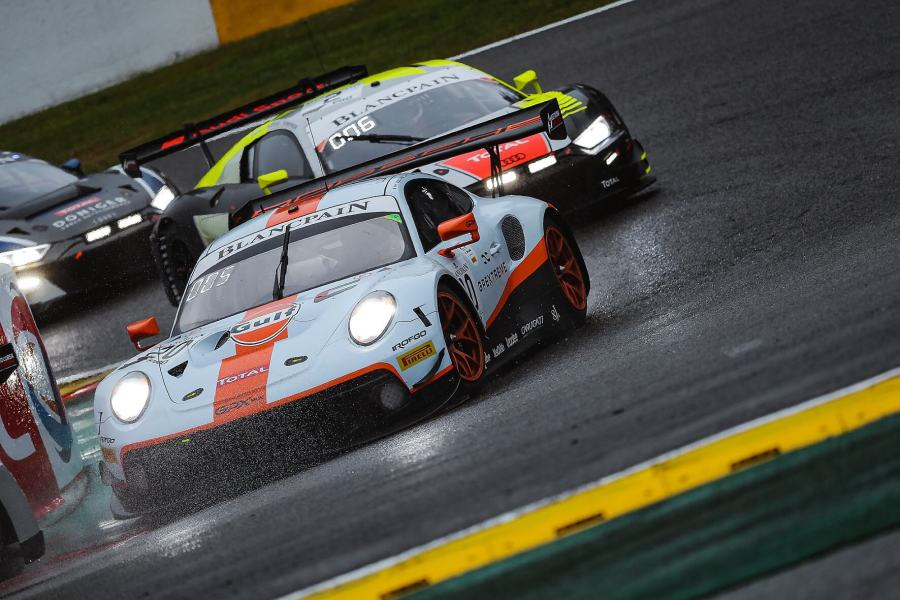 GPX Racing Porsche 911 GT3 R at Spa 24h endurance race