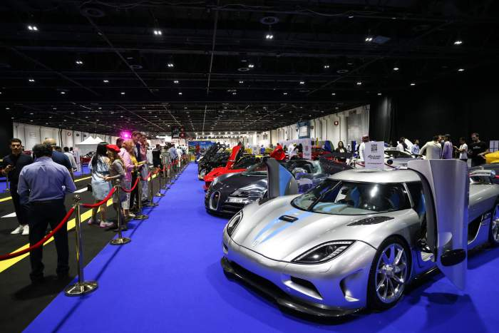 Dubai International Motor Show 2019