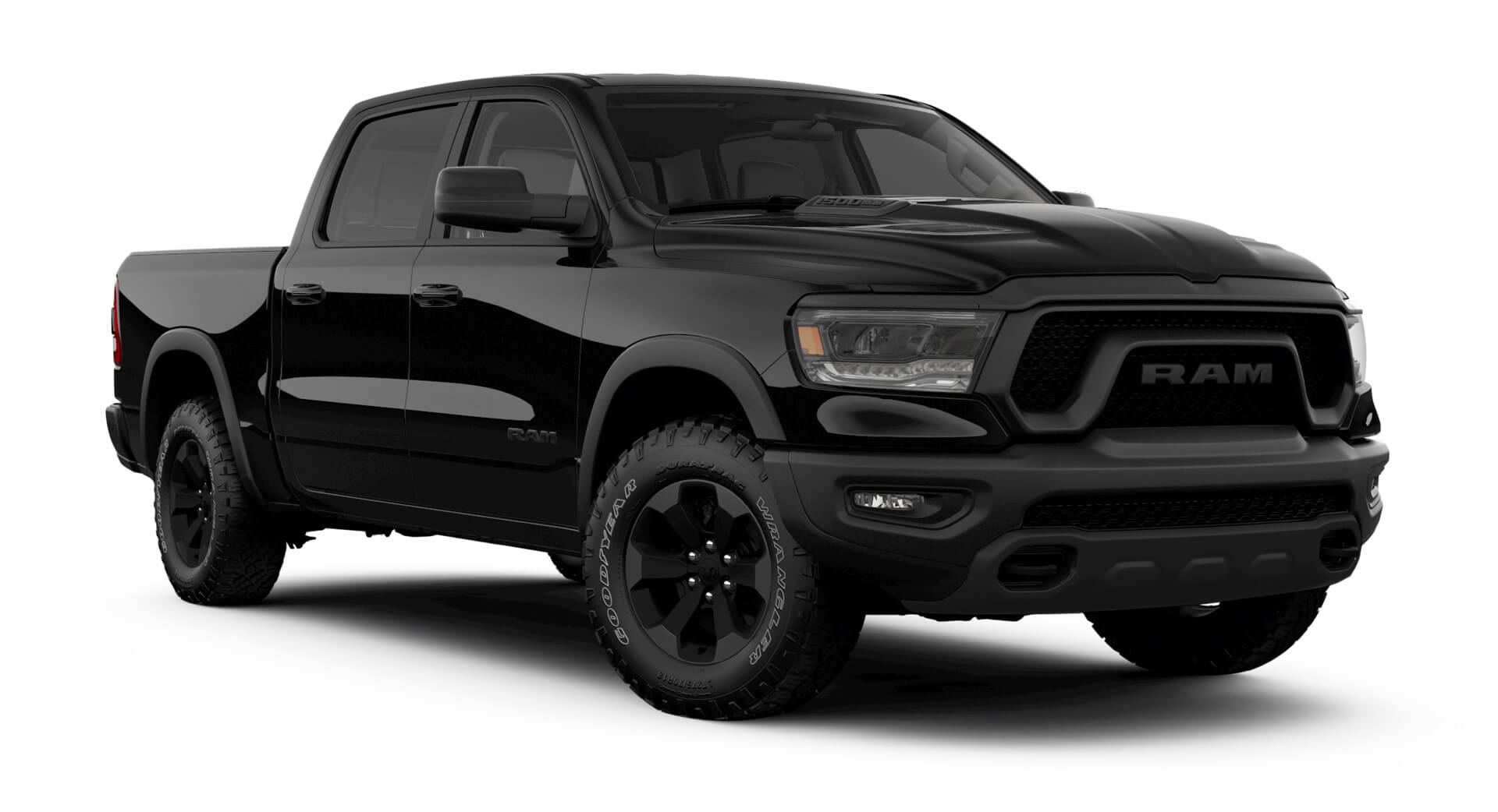 Ram 1500 Rebel Black