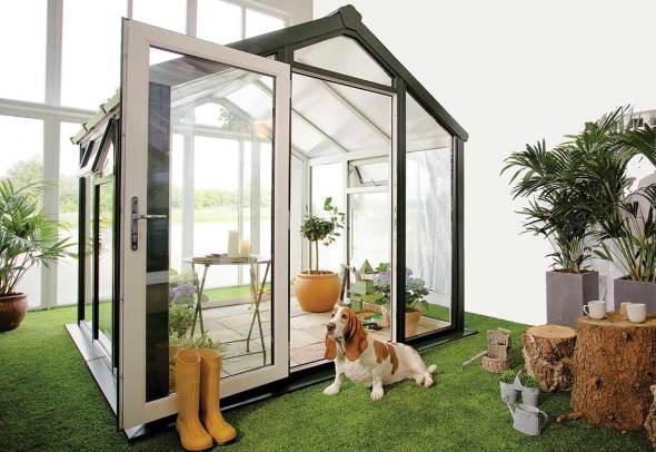 Nouveautés Jardin d'Hiver Skye en PVC-U