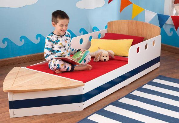 Lit pour enfant bateau