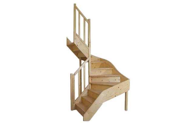 escalier-double-quart-tournant