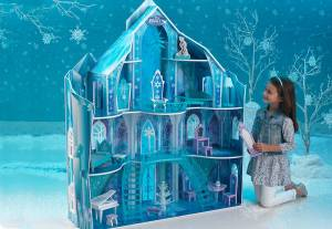 noel jouet maison poupees-reine-des-neiges
