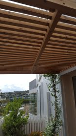 Construction d'une pergola