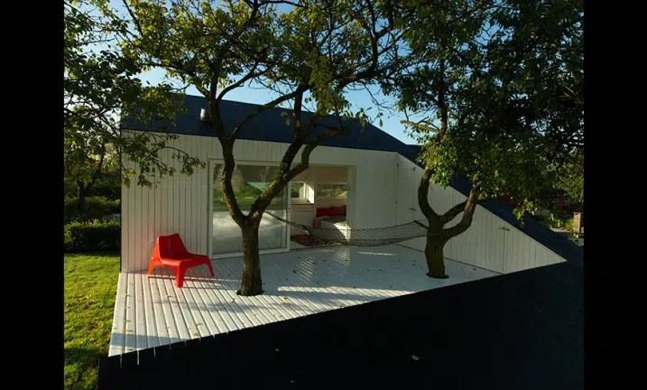 Maison De Jardin Contemporaine Avec Terrasse