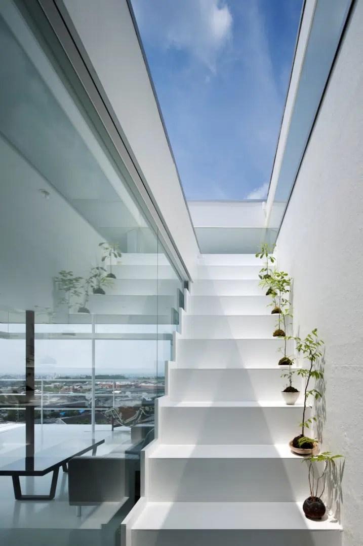 9 Exemples Descaliers Blancs Design Dans Un Intrieur