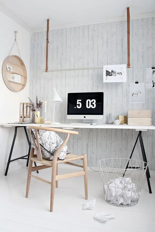 Inspiration bureau style scandinave